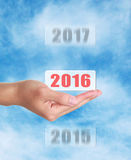 Into 2016 Stock Images