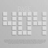 Image to use on websites as 404 error page Royalty Free Stock Images