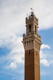Image of Torre del Mangia in Siena Italy Royalty Free Stock Image