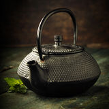Image of traditional eastern teapot Royalty Free Stock Photography