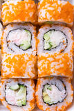 Image of traditional Japanese food Sushi Royalty Free Stock Images