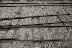 Image of Train Rail Royalty Free Stock Images