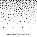 Image tramée abstraite Dots Background de gradient Illustration Libre de Droits