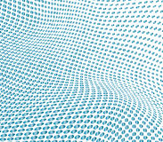 Image tramée bleue illustration stock