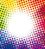 Image tramée colorée Images libres de droits