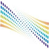 image tramée colorée de fond Images libres de droits
