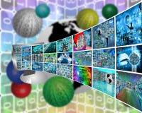 Image transmission Stock Photography