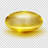 Image transparente de capsule illustration de vecteur