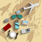 The image of transport and leisure Royalty Free Stock Image