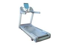 The image of treadmill isolated Royalty Free Stock Photos