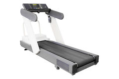 Image of treadmill isolated Royalty Free Stock Photography