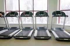Image of treadmills Royalty Free Stock Photo