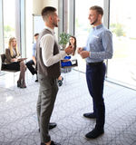 Image of two business partners Royalty Free Stock Photography