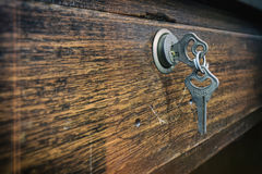 Image two keys looped together. Royalty Free Stock Images