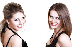 Image of two young beautifull girls Stock Image