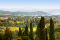 Image of typical tuscan landscape Royalty Free Stock Photos