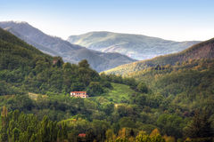Image of typical tuscan landscape. Italy royalty free stock photos