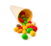 Image of various colorful candy Royalty Free Stock Images