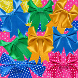 Image of various ribbons closeup stock photo
