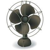 Retro Electric Fan Vector Royalty Free Stock Photos