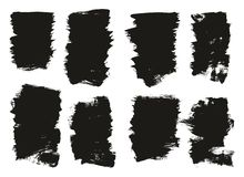 Calligraphy Paint Brush Background High Detail Abstract Vector Background Set 119. This image is a vector illustration and can be scaled to any size without loss royalty free illustration
