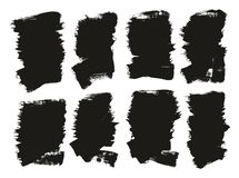 Calligraphy Paint Brush Background High Detail Abstract Vector Background Set 118. This image is a vector illustration and can be scaled to any size without loss royalty free illustration