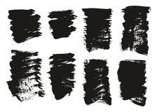 Calligraphy Paint Brush Background High Detail Abstract Vector Background Set 117. This image is a vector illustration and can be scaled to any size without loss royalty free illustration