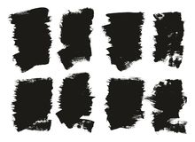 Calligraphy Paint Brush Background High Detail Abstract Vector Background Set 114. This image is a vector illustration and can be scaled to any size without loss royalty free illustration