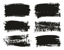 Calligraphy Paint Brush Background High Detail Abstract Vector Background Set 102. This image is a vector illustration and can be scaled to any size without loss stock illustration