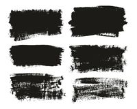 Calligraphy Paint Brush Background High Detail Abstract Vector Background Set 99. This image is a vector illustration and can be scaled to any size without loss royalty free illustration