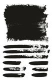 Calligraphy Paint Brush Background. This image is a vector illustration and can be scaled to any size without loss of resolution stock illustration