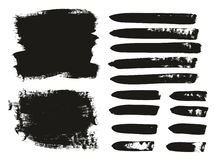 Calligraphy Paint Brush Background. This image is a vector illustration and can be scaled to any size without loss of resolution royalty free illustration