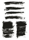Calligraphy Paint Brush Background Mix High Detail Abstract Vector Background Set 110. This image is a vector illustration and can be scaled to any size without stock illustration