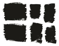 Calligraphy Paint Brush Background Mix High Detail Abstract Vector Background Set 69. This image is a vector illustration and can be scaled to any size without royalty free illustration