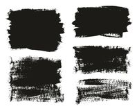 Calligraphy Paint Brush Background Mix High Detail Abstract Vector Background Set 14. This image is a vector illustration and can be scaled to any size without vector illustration