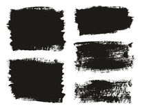 Calligraphy Paint Brush Background Mix High Detail Abstract Vector Background Set 13. This image is a vector illustration and can be scaled to any size without royalty free illustration
