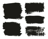 Calligraphy Paint Brush Background Mix High Detail Abstract Vector Background Set 11. This image is a vector illustration and can be scaled to any size without stock illustration
