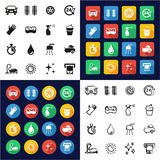 Car Wash Icons All in One Icons Black. This image is a vector illustration and can be scaled to any size without loss of resolution vector illustration