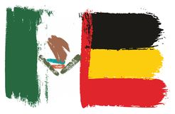 Mexico Flag. This image is a vector illustration and can be scaled to any size without loss of resolution Stock Photos