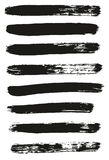 Paint Brush Lines High Detail Abstract Vector Background Set 28. This image is a vector illustration and can be scaled to any size without loss of resolution vector illustration