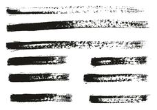 Paint Brush Thin Lines High Detail Abstract Vector Background Set 93. This image is a vector illustration and can be scaled to any size without loss of royalty free illustration