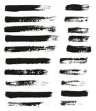 Paint Brush Thin Lines High Detail Abstract Vector Background Set 62. This image is a vector illustration and can be scaled to any size without loss of stock illustration