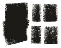 Paint Roller Rough Backgrounds. This image is a vector illustration and can be scaled to any size without loss of resolution royalty free illustration