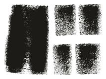 Paint Roller Rough Backgrounds. This image is a vector illustration and can be scaled to any size without loss of resolution vector illustration