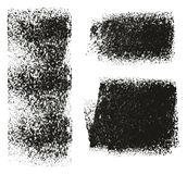 Paint Roller Rough Grunge Backgrounds. This image is a vector illustration and can be scaled to any size without loss of resolution stock illustration