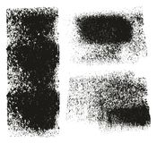 Paint Roller Rough Grunge Backgrounds. This image is a vector illustration and can be scaled to any size without loss of resolution royalty free illustration