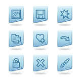 Image Viewer 2 Icons Stock Photo