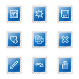 Image viewer 2 web icons Stock Photography