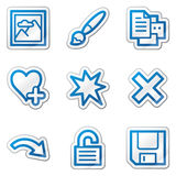 Image viewer web icons set 2 Royalty Free Stock Photos