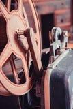 Vintage film reel. Image of Vintage film reel Royalty Free Stock Photography